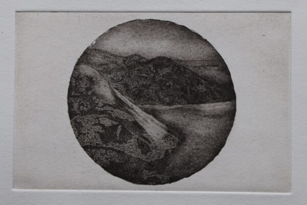 Donegal Dusk etching